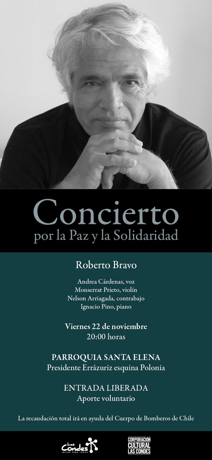 Concierto Roberto Bravo